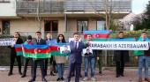 Перед посольством Армении в Варшаве прошла акция протеста под лозунгом «Карабах — это Азербайджан!»