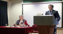 Əhməd Şahidov Beynəlxalq Kipr Universitetində çıxış etdi – FOTO