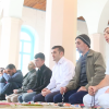 Əhməd Şahidov Qax möminləri ilə birlikdə Cümə Namazı qılıb