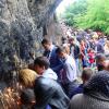 Qax rayonunda gürcü və azərbaycanlılar Kürmükoba bayramını böyük izdihamla qeyd ediblər