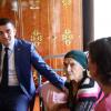 """""""Qax rayonunda bizimlə maraqlanan yoxdur"""" – Əhməd Şahidov şəhid anasını ziyarət edib"""