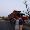 Qax kəndlərinin yolları yenidən qurulur, müasir asfalt örtüyü çəkilir