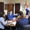 Əhməd Şahidov Serbiya Respublikasının Ombudsmanı cənab Zoran Paşaliç ilə görüşüb