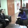 Əhməd Şahidov Albaniya Respublikasının Ombudsmanı xanım Erinda Ballanka ilə görüşüb