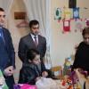Əhməd Şahidov Şəki şəhərində kimsəsiz uşaqlar evini ziyarət edib