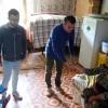 Qax rayonunda aztəminatlı ailələrə Qurban Bayramı sovqatları paylanılıb