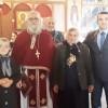 Əhməd Şahidov Qaxın gürcü icmasının Bazar günü ibadətində iştirak edib