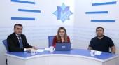 """""""Yeni Müsavat"""" qəzetinin canlı yayımında """"Avroviziya 2019"""" debatı – Əhməd Şahidov və Samir Əsədli"""