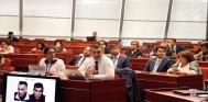 Əhməd Şahidov Avropa Şurası Parlament Assambleyasında azərbaycanlı girovlar barədə danışıb